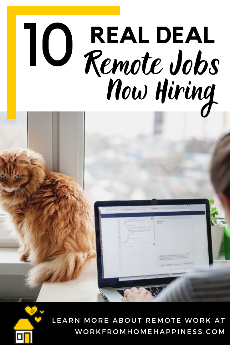 New Work From Home Jobs | Now Hiring