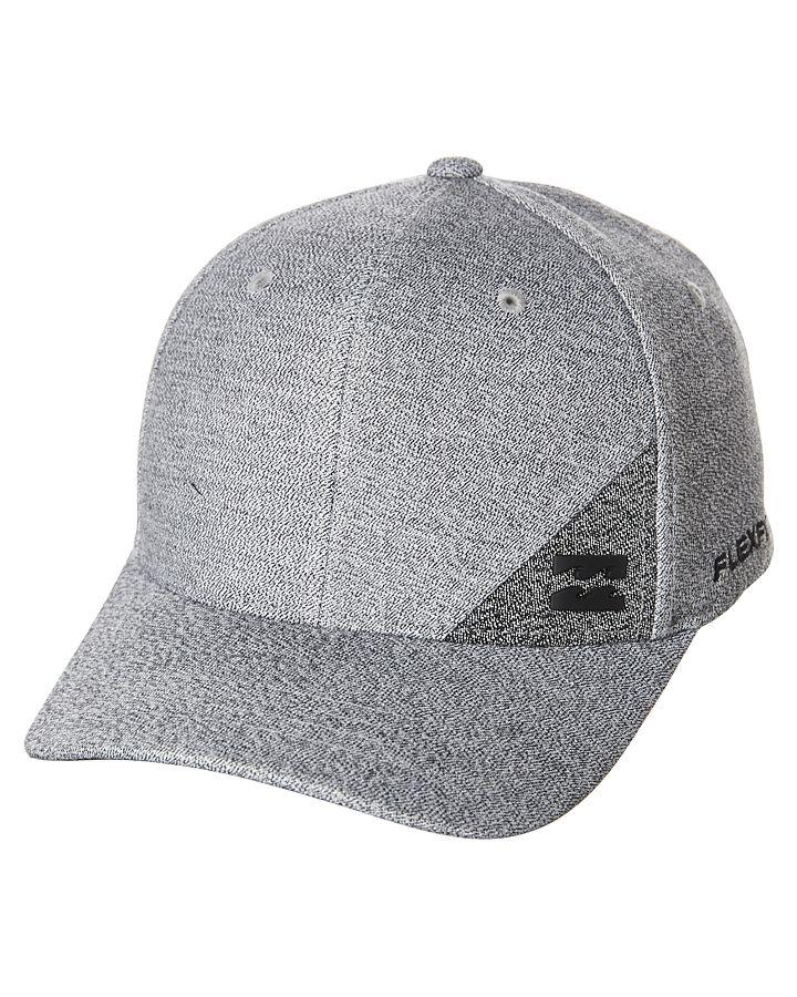 074666a6b8e2e Billabong Station Flexfit Cap Grey Cotton
