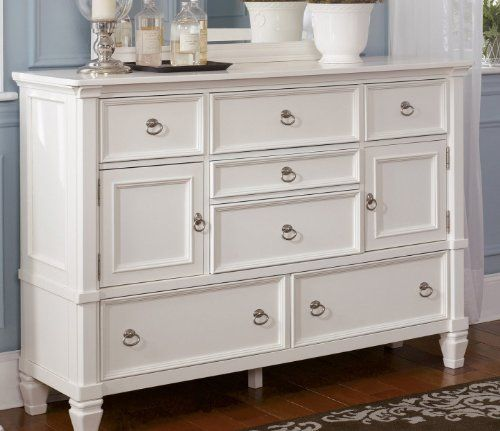 white bedroom dressers. Cottage Style White Prentice Bedroom Dresser Dressers Pinterest