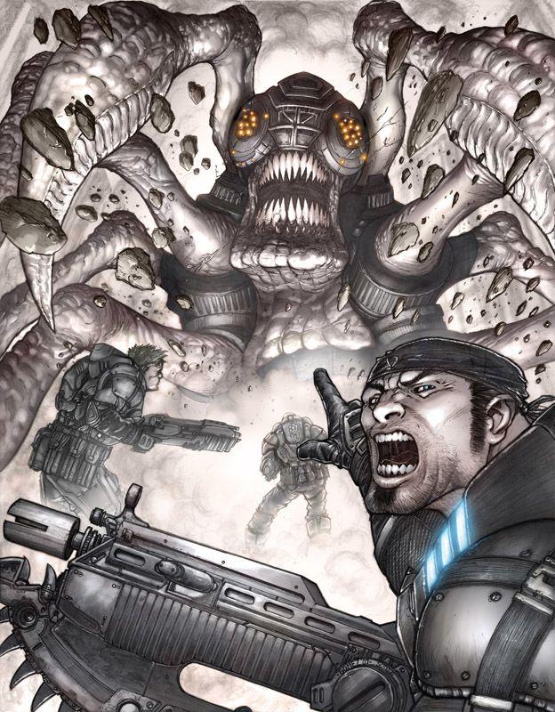 Gears Of War By Joelgomez On Deviantart Pinterest Imagenes Dibujos Video Juego