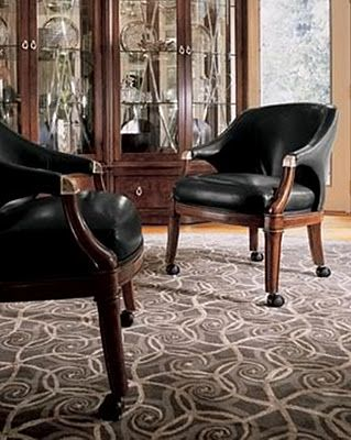 Club Chair Bogart Collection Thomasville