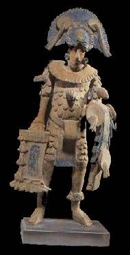 Guerrero ,terracota Maya