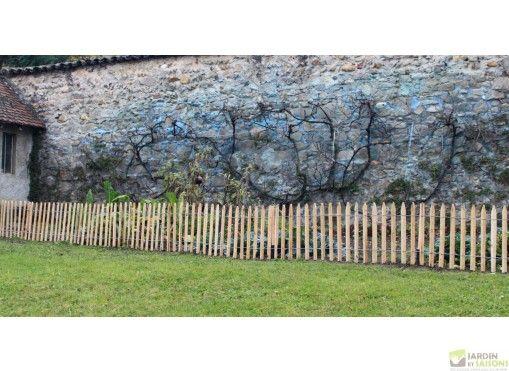 Ganivelle En Chataignier Pour Cloture 50 Ou 100 Cm X 10 M En 2020 Jardins Champetres Jardins Barriere Jardin
