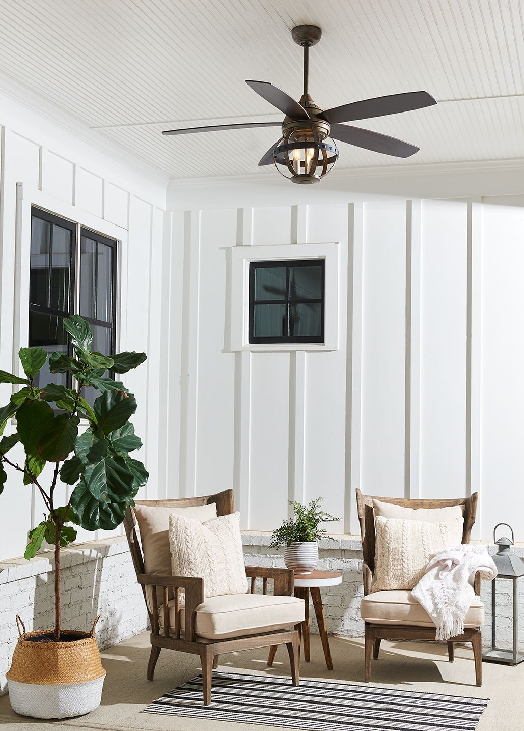Savoy House Alsace 52 3 Light Indoor Outdoor Ceiling Fan In