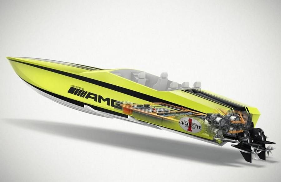 Cigarette Boat Amg The World S Fastest Electric