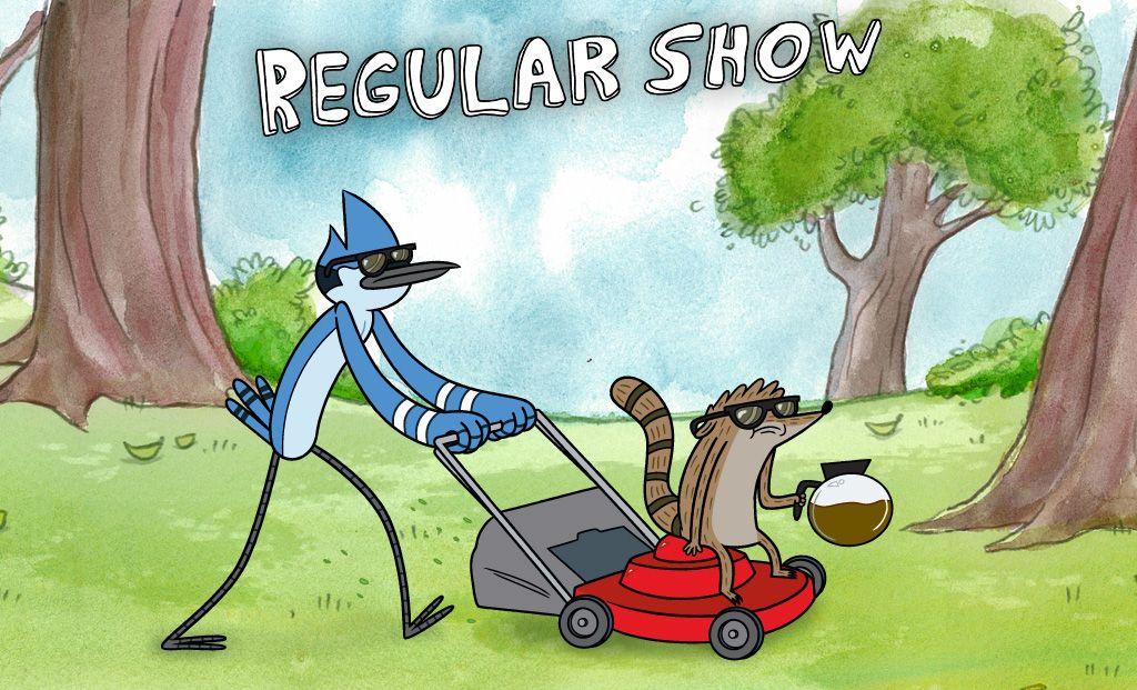The Regular Show Wallpapers Regular Show Pops Regular Show Scary Movies