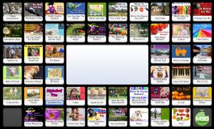 50 Online Early Readers (with audio). Amazing resource for beginning readers. Kindergarten 1st grade