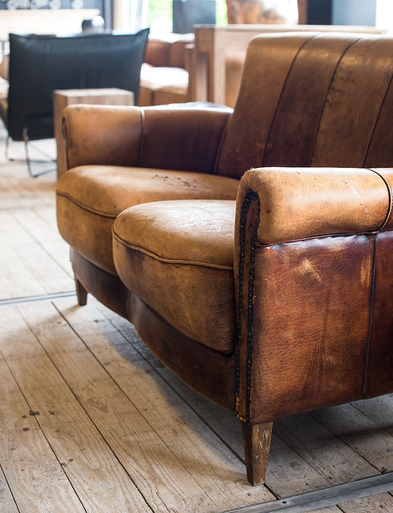 Brown leather, chairs and metals on pinterest