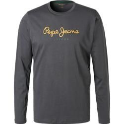 Photo of Pepe Jeans men's long-sleeved shirt, regular fit, cotton, anthracite gray Pepe JeansPepe Jeans