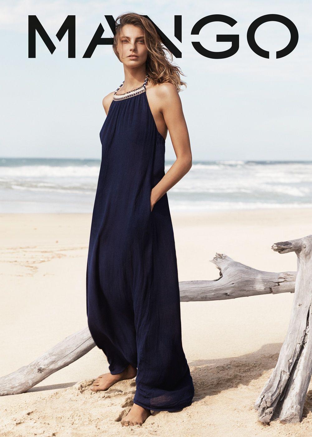 Vestido halter largo mujer boho maxi dresses and robe