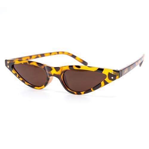 c964b639b02 ... Atomic Sunglasses by Wynwood Shop. Skinny Vintage Cheetah Sunglasses