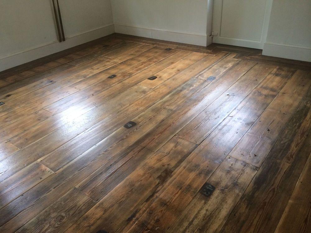 Reclaimed Pine Floorboards Wide Plank