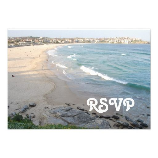 Beach RSVP Card Invites Shoppingplease follow the link to see fully reviews...