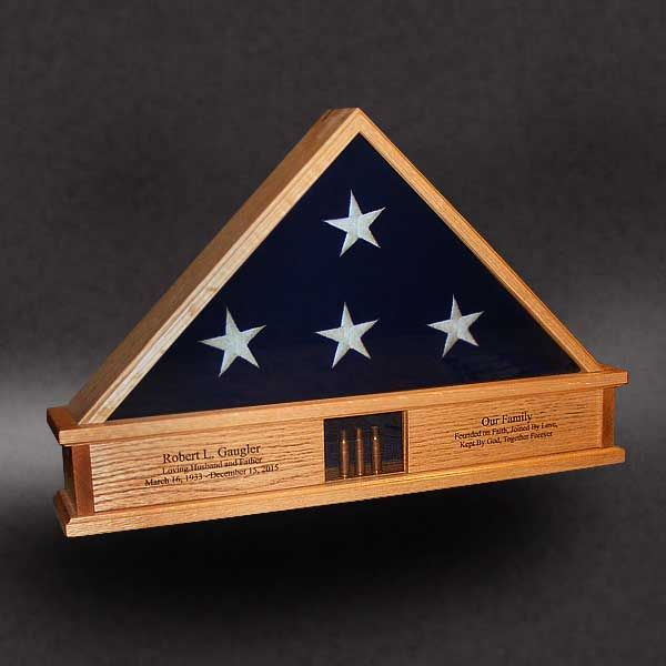 Casket Flag Case Display