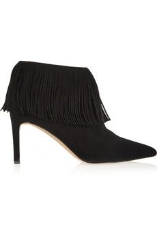 254c2a790 Sam Edelman Kandice fringed suede ankle boots