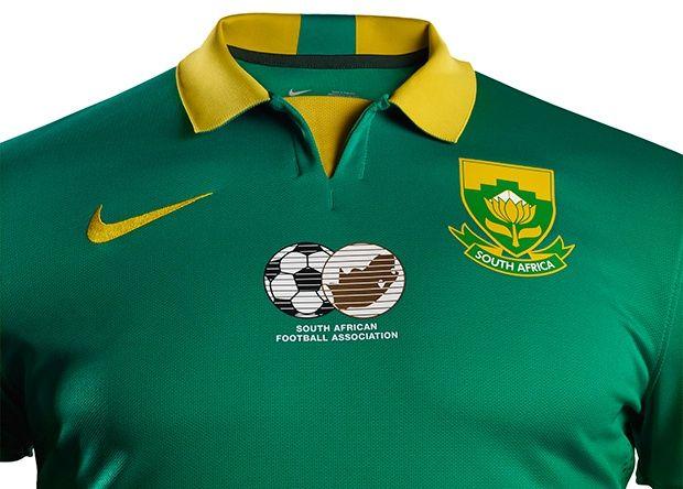 Nova segunda camisa da África do Sul - 2015