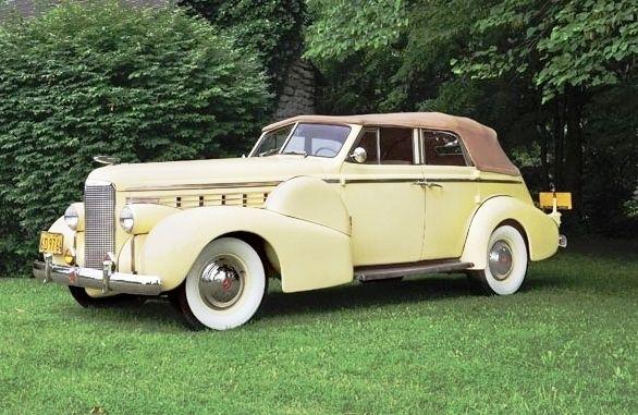 1938 Lasalle 50 Convertible Sedan Lasalle Brand By General Motors