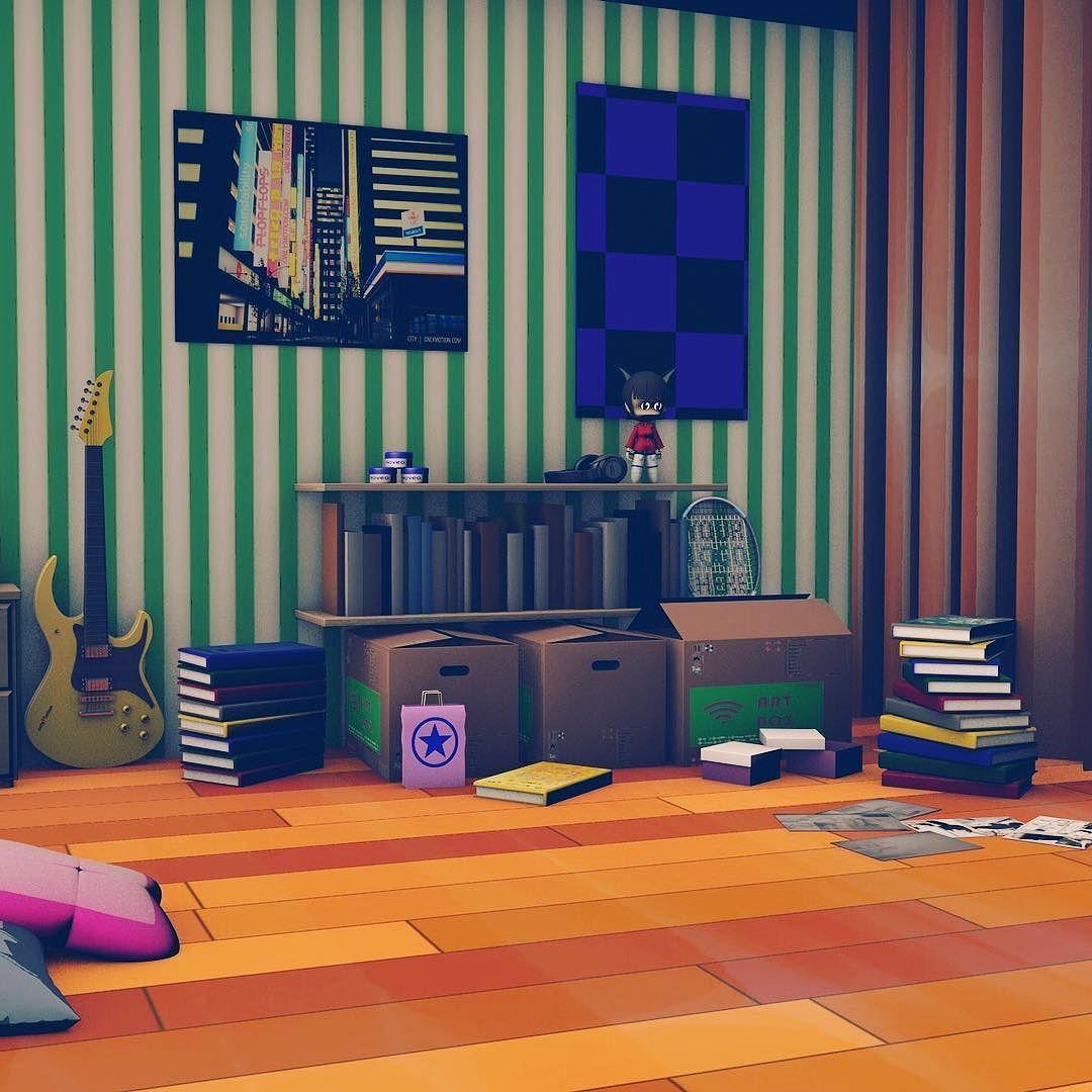 Best 3D T**N Room Made In Cinema4D 3D C4D Room Toy 640 x 480