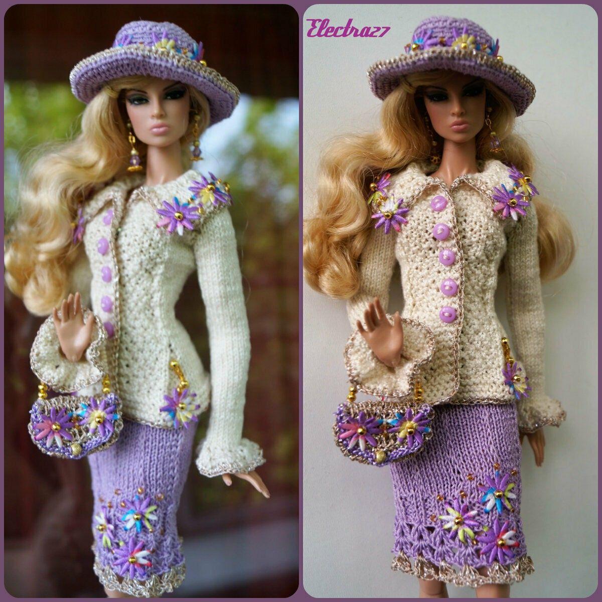 "Brown transparent Shoes for 12/"" Poppy Parker Fashion royalty FR2 Nu Face"