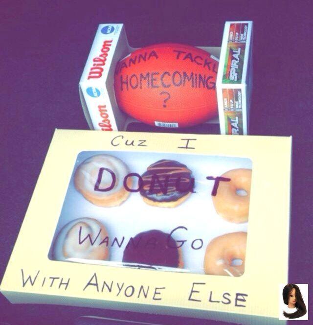 Wie ich meinen Fußballspieler / Donut-liebenden Freund zur Heimkehr gebeten habe! (Willst du tac ... - New Ideas #hocoproposalsideasboyfriends