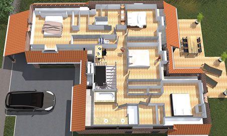 plan construction maison 3d - Construction De Maison En 3d