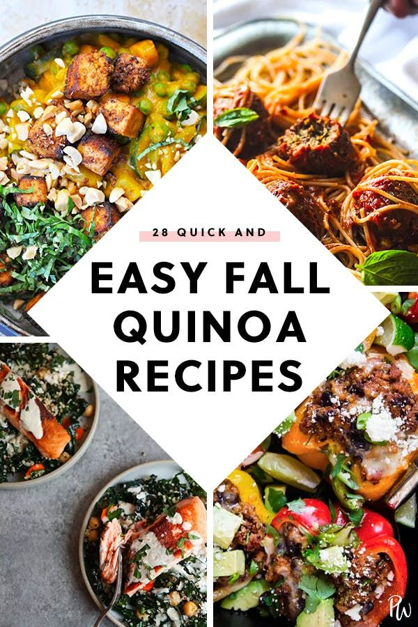 28 Quick and Easy Quinoa Recipes for Fall images