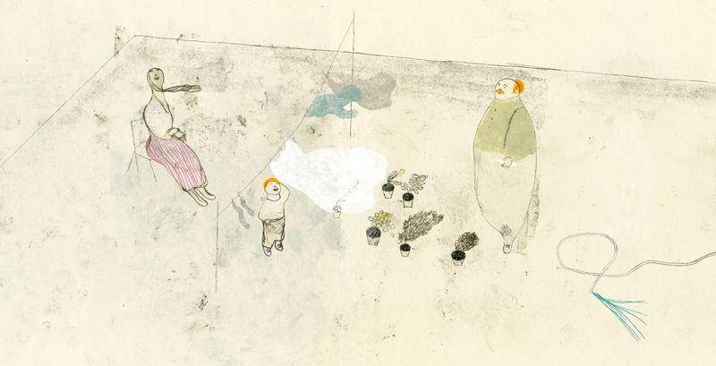 Il respiro del vento | Pencil Ilustradores
