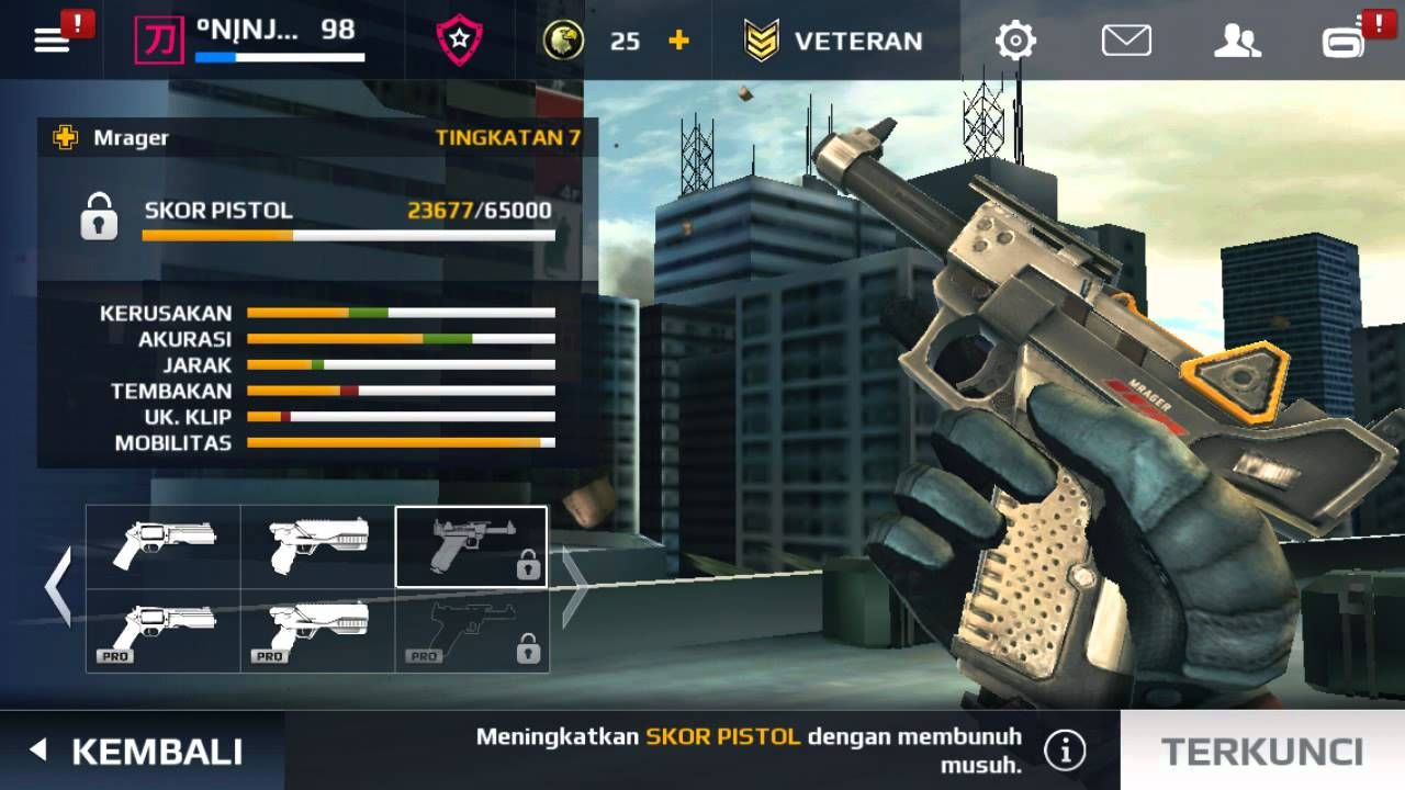 apk mod modern combat 5 offline