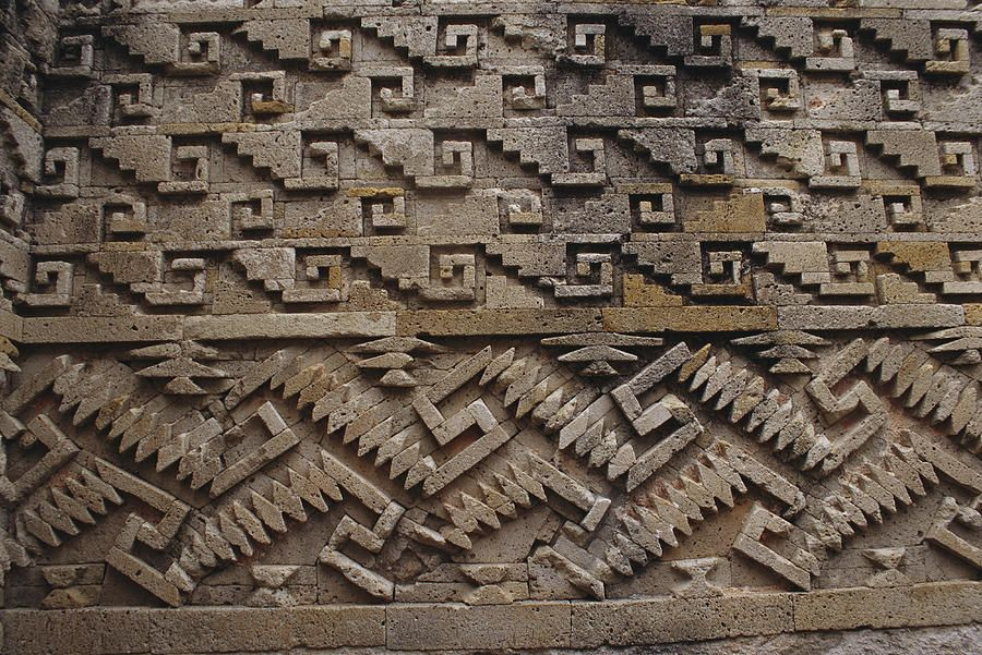 A Detail Of Intricate Pre Columbian By Raul Touzon Masonry Work America Art Architecture Artists