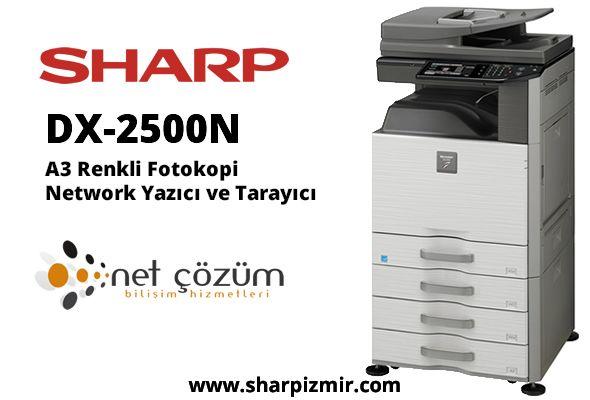 Sharp Dx 2500n Izmir Yazici Baski Renkler
