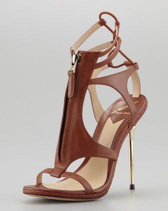 2798f20f58a9b Merritta Zip-Front Sandal