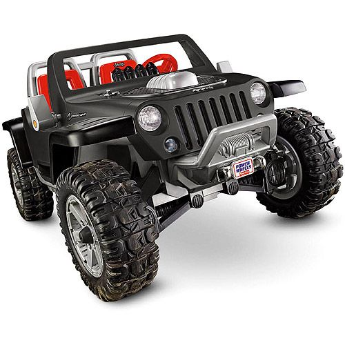 Fisher Price Power Wheels Jeep Hurricane Ride On Power Wheels