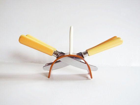 Rare German Solingen Rostfrei Set Six Knife Set