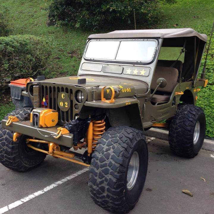some what modified mb willys old jeeps pinterest jeeps 4x4 and jeep stuff. Black Bedroom Furniture Sets. Home Design Ideas