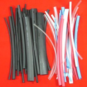 Anytime Tools 96 Pc Heat Shrink Tubing Wrap Sleeves Assorted Color Heat Shrink Tubing Heat Shrink Shrink
