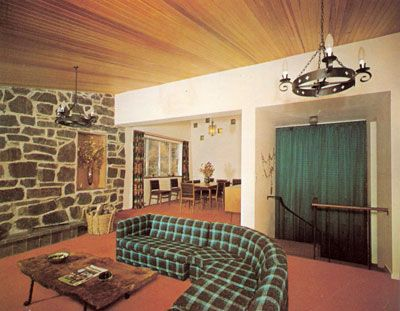 homes in the seventies after the turn for a couple of interior shots from the - 70s Home Design