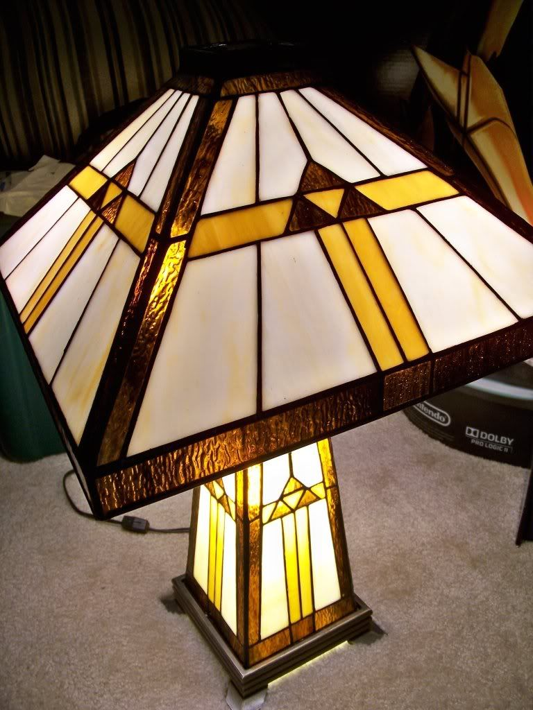 Legend Of Zelda Stained Glass Lamp