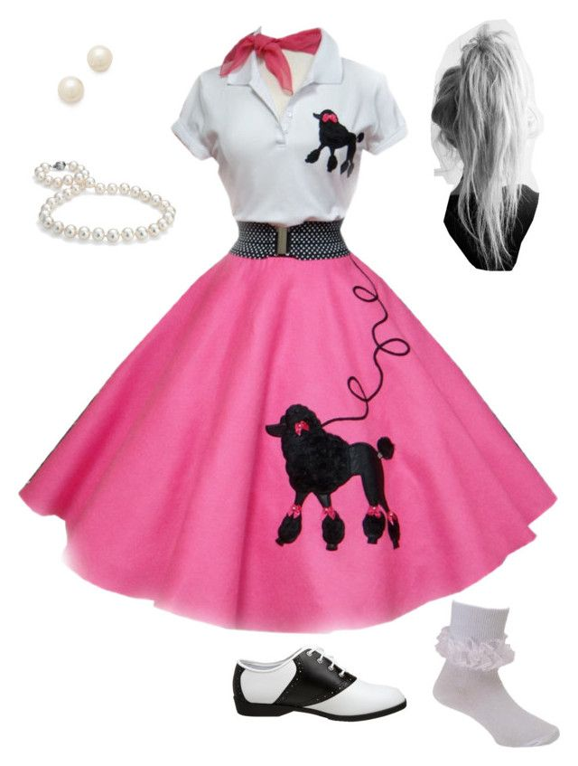 1950s Halloween Costume Poodle Skirt