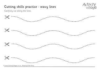 Kindergarten Scissor Skills Printable Worksheets. Kindergarten ...