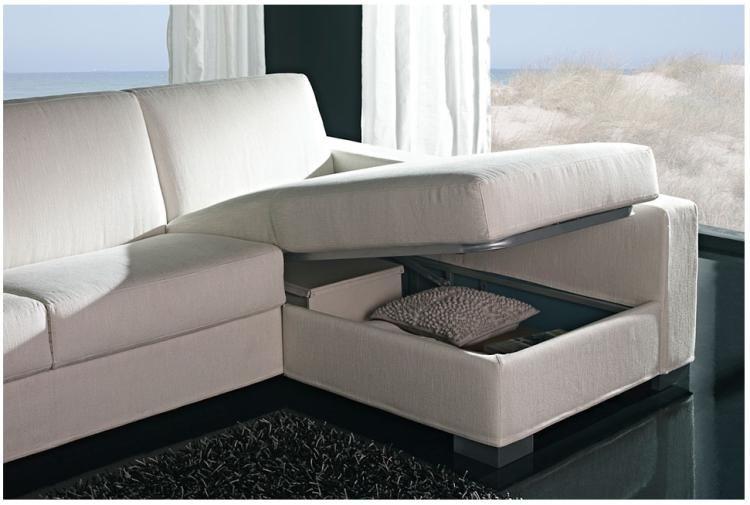 Sofá cama de altsima calidad y dise±o actual equipado con un
