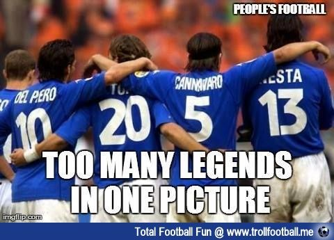 100 Legends Http Www Trollfootball Me Display Php Id 16273 Football Soccer Trollfootball S Everton Football Club Legends Football Alessandro Del Piero
