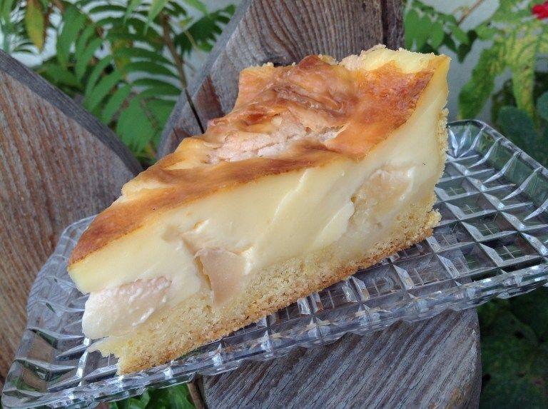 Apfel Sahnepudding Kuchen Einfach Kostlich In 2020 Apfel Pudding Kuchen Pudding Kuchen Einfach Kostlich