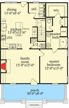 Looks like about sq ft on the first floor alone  layout though open up some walls and get it to   sold also quaint little rh pinterest