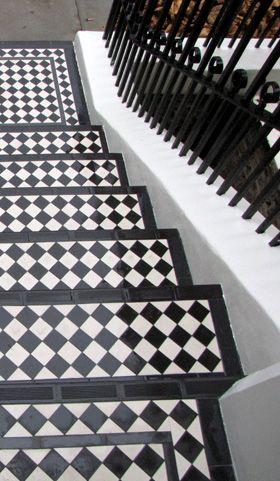 Bright Side Tiling Front Door Steps Victorian Tiles Tile Steps