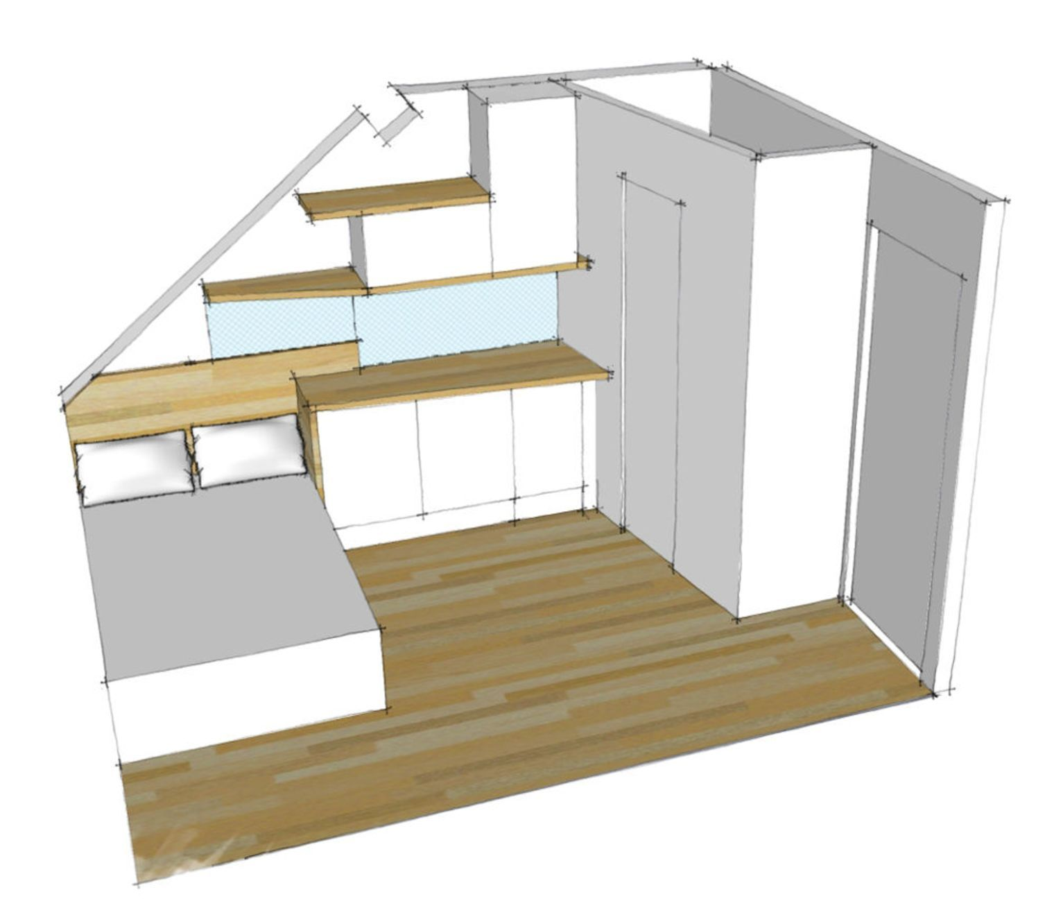 Aménagement studio Paris : 10m2 fonctionnels | Studio, Space ...