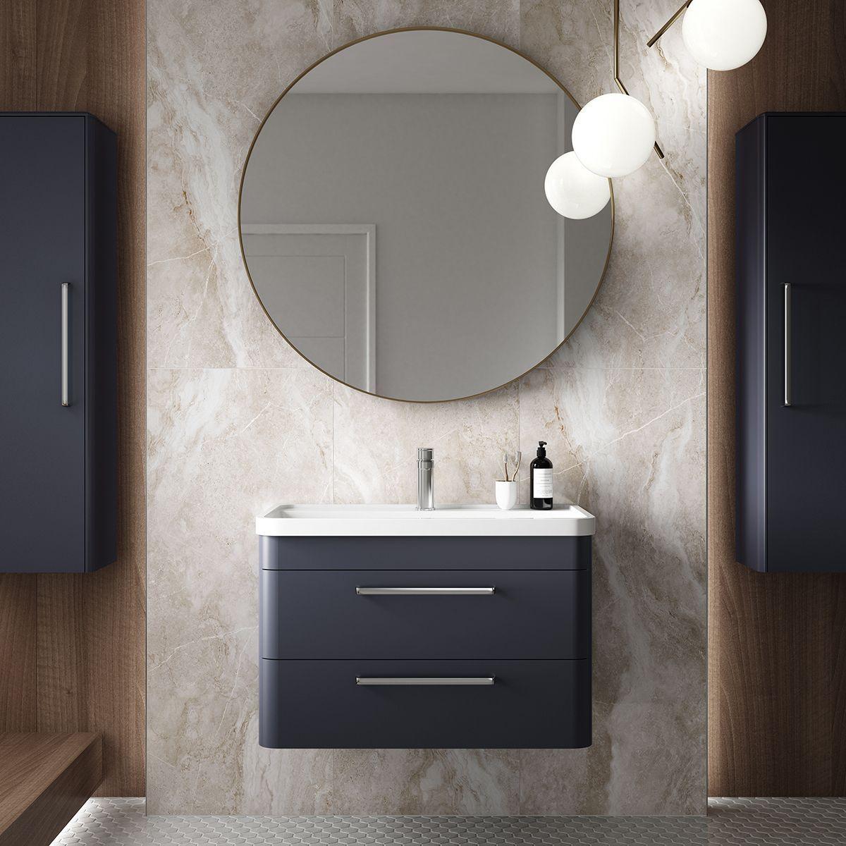 The Modern Hudson Reed Solar Range Of Bathroom Furniture Is Something Special Extra Modern Feat Fitted Bathroom Furniture Basin Vanity Unit Bathroom Furniture