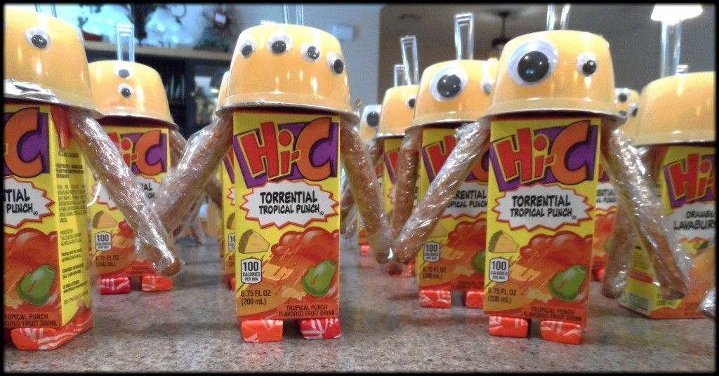 Classroom Snack Ideas Kindergarten : Under attack how to make a juice box robot kindergarten