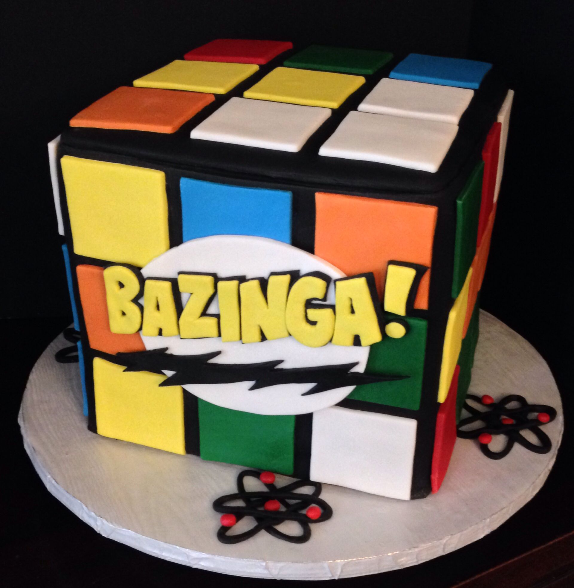 Big Bang Theory Cake Tniebakes