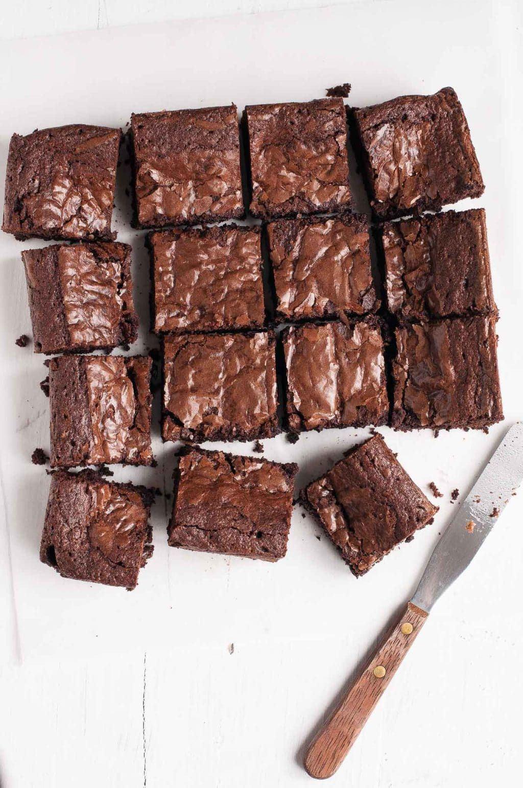 Easy Chocolate Brownies with step-by-step photos