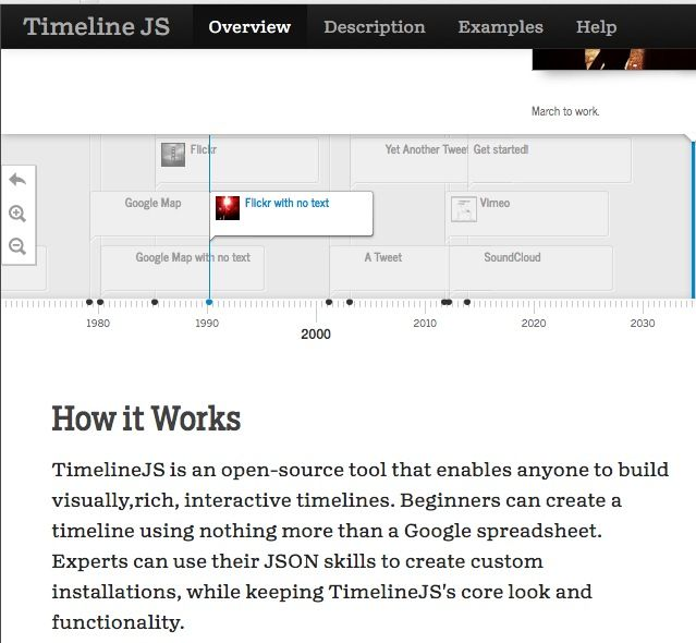 TimelineJS is an open-source tool that enables anyone to build